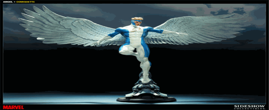 Side Show Marvel's Angel Statue